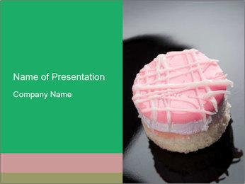 Fancy Pink Cake PowerPoint Template