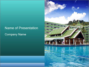 Exotic Hotel in Thailand PowerPoint Template