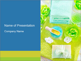 Bath Cosmetics PowerPoint Template