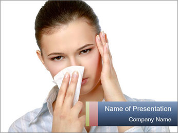 Fly Symptoms PowerPoint Template