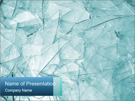 Glass powerpoint template smiletemplates pile of broken glass powerpoint template toneelgroepblik Gallery