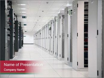 Big Data Center PowerPoint Template