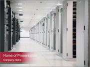 Big Data Center Plantillas de Presentaciones PowerPoint