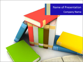 Home Library PowerPoint Template
