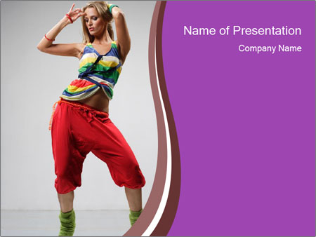 Cool girl in red trousers powerpoint template backgrounds google cool girl in red trousers powerpoint template toneelgroepblik Gallery