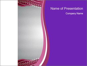 Pink Letterhead PowerPoint Template