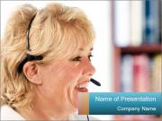 Customer Service Consultant PowerPoint Templates