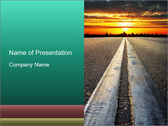 Road to Better Future PowerPoint Template
