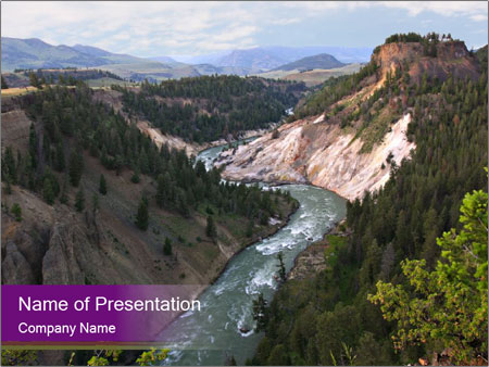 River in grand canyon powerpoint template backgrounds id river in grand canyon powerpoint templates toneelgroepblik