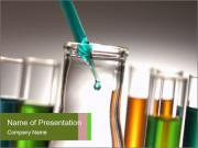 Chemical Solutions at Laboratory PowerPoint-Vorlagen