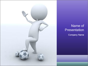 Football Hero PowerPoint Template