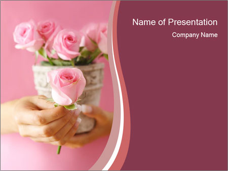 romantic powerpoint template smiletemplates com