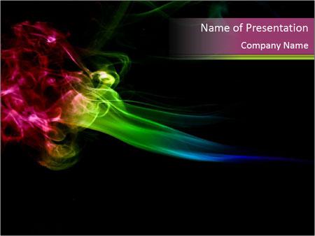 No Smoking Ppt Templates Mystical Smoke Powerpoint Template