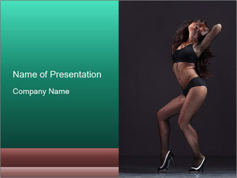 Strip Performance PowerPoint Template