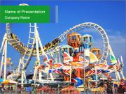 Have Fun at Amusement Park PowerPoint Templates