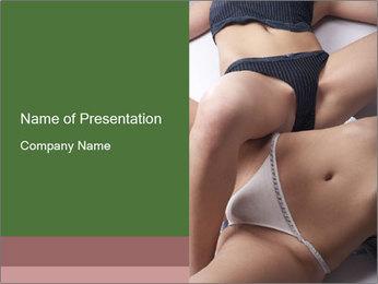Female Panties PowerPoint Template