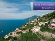 Italy powerpoint template smiletemplates spectacular sea coast in italy powerpoint templates toneelgroepblik Image collections