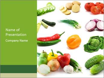 Raw Diet PowerPoint Template