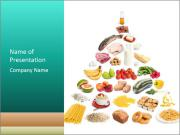 Healthy Food Pyramid PowerPoint Templates