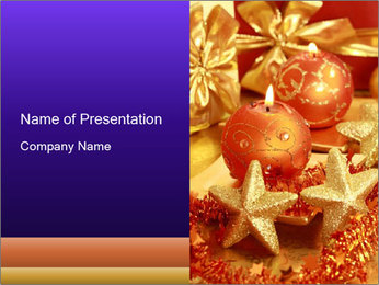 Bright Christmas Decor PowerPoint Template