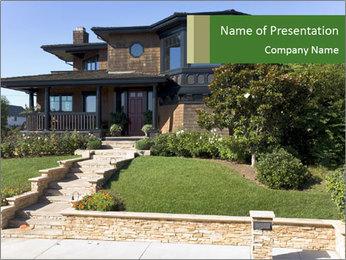 Modern Villa PowerPoint Template