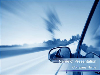Road to Nowhere PowerPoint Template
