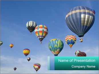 Air Balloon Festival PowerPoint Template