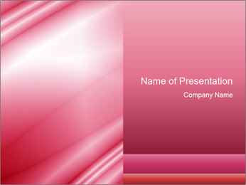 Pink Texture PowerPoint Template