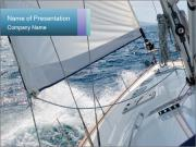 Yacht powerpoint template smiletemplates sailing in yacht powerpoint templates toneelgroepblik Image collections