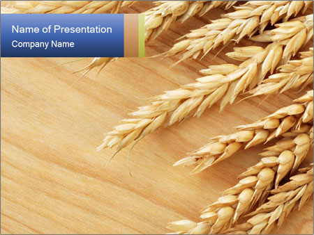 Ripe rar of wheat powerpoint template backgrounds id 0000014684 ripe rar of wheat powerpoint templates toneelgroepblik Images