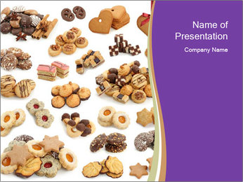 Delicious Cookies PowerPoint Template