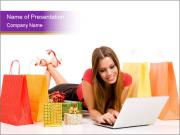 Easy On-line Shopping PowerPoint Templates
