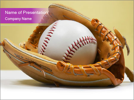 softball powerpoint template smiletemplates com