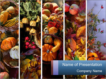Pumpkin Season PowerPoint Template