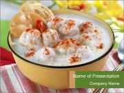 yogurt - powerpoint template - smiletemplates, Presentation templates