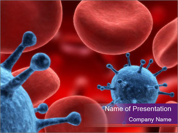 Biological Infection PowerPoint Template