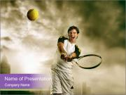 Tennis Match PowerPoint Templates