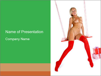 Erotic Show PowerPoint Template