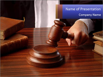 Final Court Hearing PowerPoint Template