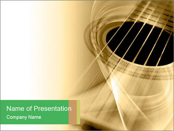 Guitar PowerPoint Template