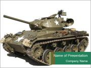 American Tank PowerPoint Templates