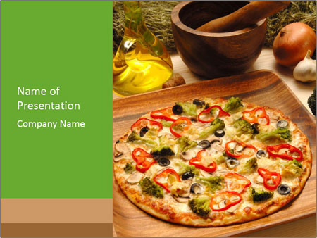cook pizza powerpoint template backgrounds google slides id