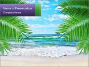 Magic Lagoon Beach PowerPoint Templates