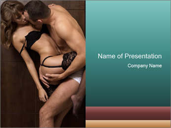 Intimate Love Relations PowerPoint Template