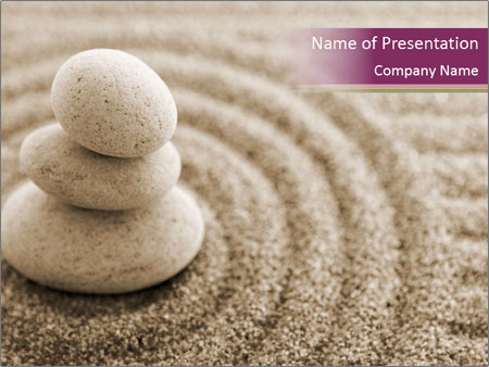 Zen stones composition powerpoint template backgrounds id zen stones composition powerpoint templates toneelgroepblik Gallery