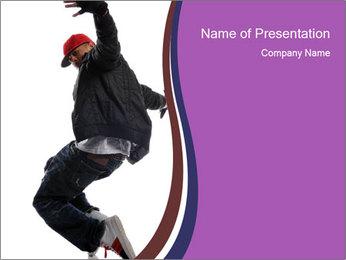 Famous Rapper PowerPoint Template