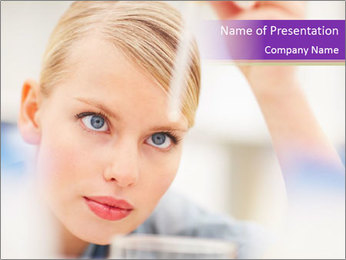 Lab Assistant Modèles des présentations  PowerPoint - Diapositives 1