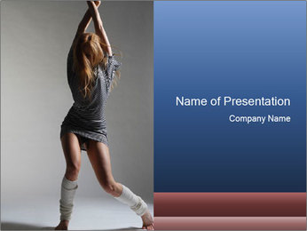 Moving Gancer PowerPoint Template