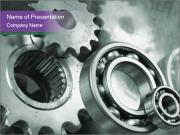 Engineering Mechanism Sjablonen PowerPoint presentaties