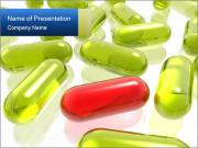 Yellow and Red Capsules PowerPoint-Vorlagen